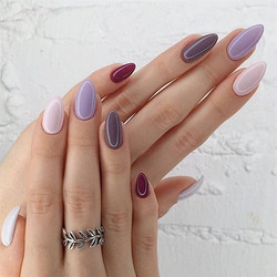 14 Gorgeous Gel Nail Designs With Gems Sparkle for you : Check them out!