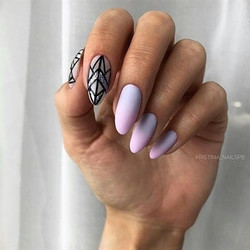 17 most Cutest and Trendy Nails Design with Light Color for Autumn and Winter